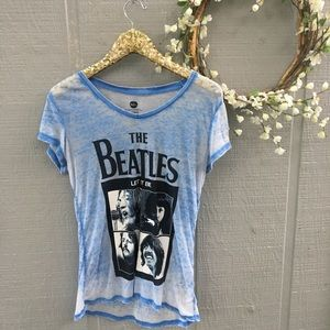 Beatles band burnout tee. Size XL 15 to 17.
